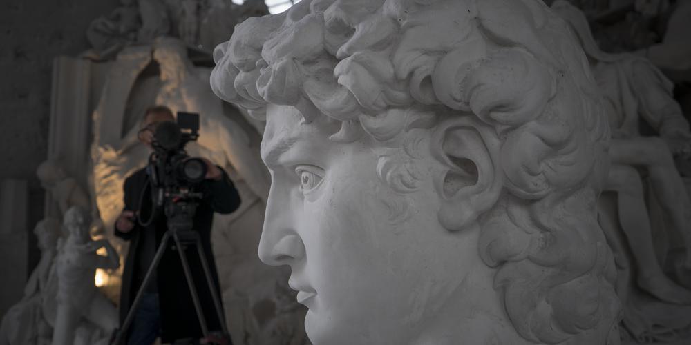 36 Filming at Studio Nicoli Carrara -® David Bickerstaff