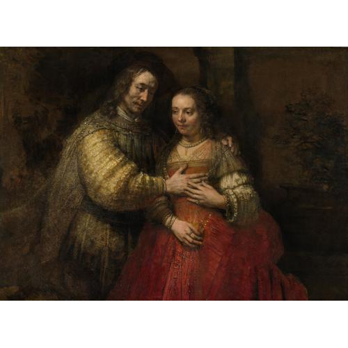 Rembrandt, Portrait of a Couple as Isaac and Rebecca, known as The Jewish Bride, c. 1665 © Rijksmuseum, Amsterdam.jpg