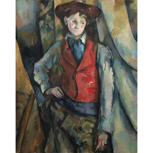 Paul Cézanne, Boy in a Red Waistcoat, 1888-1890. Courtesy of National Gallery of Art, Washington D.C.