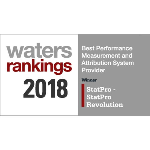 Water Rankings Award 2018